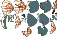 Clamshell God Zombie Sprites