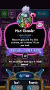 Mad Chemist stats
