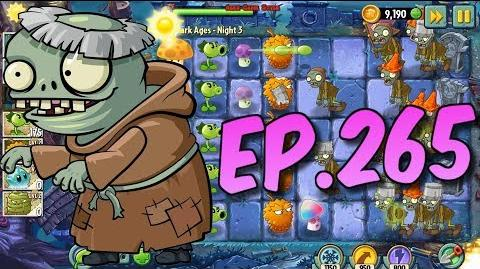 Plants vs. Zombies 2 Buying a new Plant Pea-Nut, New Imp Monk Zombie - Dark Ages Night 3 (Ep