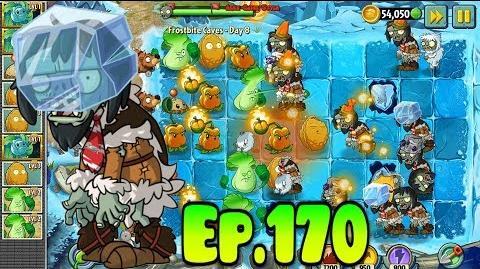 Plants vs. Zombies 2 New Blockhead Zombie - Frostbite Caves Day 8 (Ep