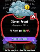 Storm Front statistics