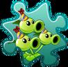 Threepeater Costume Puzzle Piece