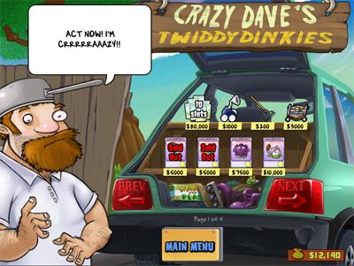 Crazy Dave's Twiddydinkies