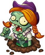 HD Line Dancing Zombie by Flag Zombie Hole