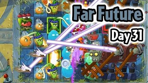 Plants vs Zombies 2 - Far Future Day 31- Missing Lawnmowers - Caulipower Epic Quest Step 6