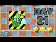 Plants vs Zombies 2 China - Renaissance Age Day 21 -Protect Aloe-《植物大战僵尸2》- 复兴时代 21天