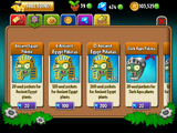 Plant upgrade system