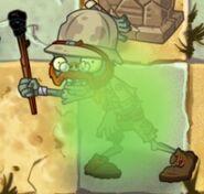 Stunned Explorer Zombie