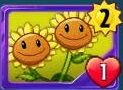 TwinSunflowerOldCard