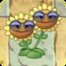 Twin Sunflower Costume1