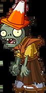 Conehead Samurai Zombie Almanac Icon Texture
