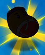 Jumping bean silhouette