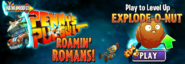 Penny's Pursuit Explode-o-Nut Ad Main Menu