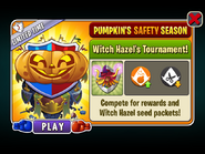 Pumpkin's Safety Season - Witch Hazel's Tournament