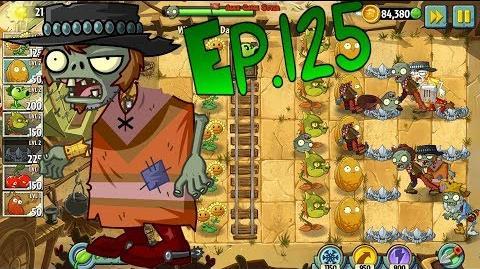Plants vs. Zombies 2 New Poncho Zombie Wild West Day 5 (Ep