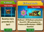 Kiwibeast with Costume and Bundle
