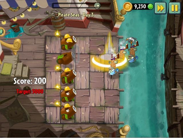 Pirate Seas - Day 3