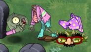 Dead Springening Conehead Zombie