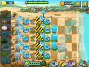 Nicko756 - PvZ2 - Big Wave Beach - Day 15 - 004