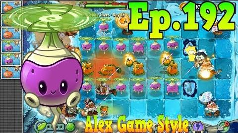 Plants vs. Zombies 2 Rotobaga and Stunion - Frostbite Caves Day 25 (Ep