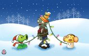 Plantsvs.Zombies Winter2010Wallpaper4