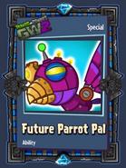 Future parrot pal sticker