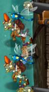 Bug Zombies in Pirate Seas