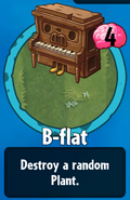 Receiving B-flat