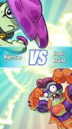 PvZ Heroes Super Brainz vs Nightcap