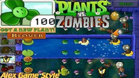 Plants vs. Zombies Adventure Got a Blover level 4-3 Fog (Android Gameplay HD) Ep