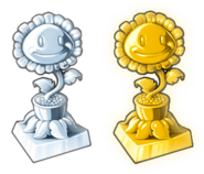 Sunflower trophies