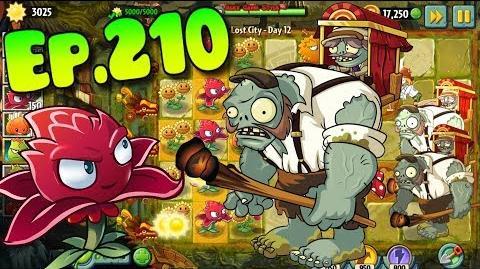 Plants vs. Zombies 2 New Porter Gargantuar - Lost City Day 12 (Ep