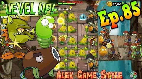 Plants vs Zombies 2 Quest - Reduce Zombies to Ash! Level UP Plants (Ep