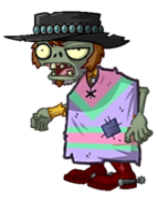 Springening Poncho Zombie