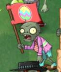 Flag Zombie Easter Char