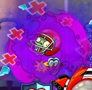 Medic healing All-Star Zombie