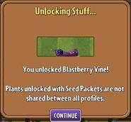 Blastberry Vine Unlocked