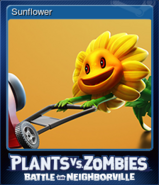 Steam BfN Sunflower Card