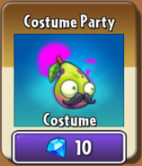 Costume Party Imp Pear