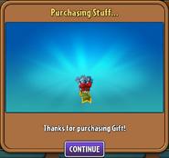 Getting Gauntlet Gift
