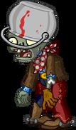 HD Cowboy Buckethead Zombie