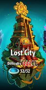 Lost City with Difficulty