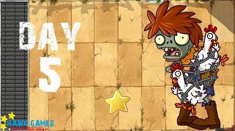Plants vs. Zombies All Stars - Wild West Day 5F