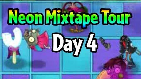 Plants vs Zombies 2 - Neon Mixtape Tour Day 4 (Beta) Magnet-shroom vs Punk Zombie