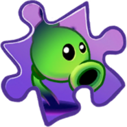 Shadow Peashooter Super-Rare Puzzle Piece