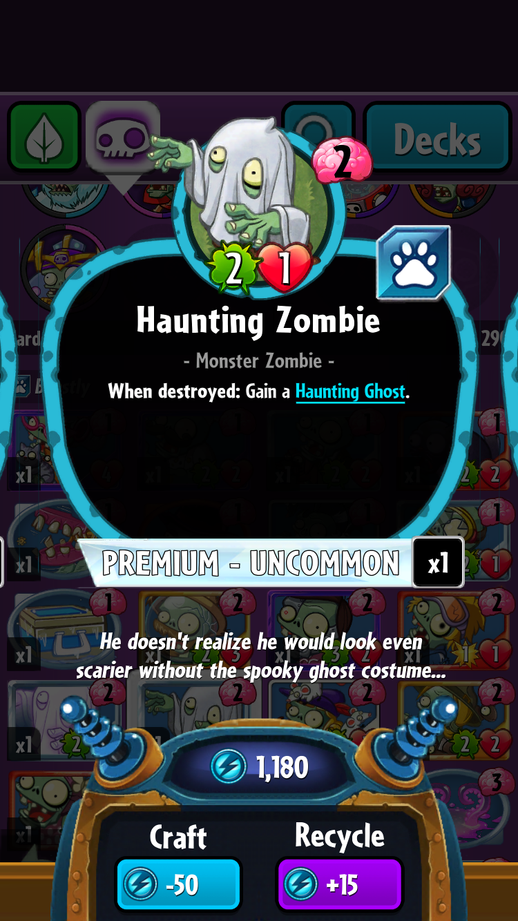 Haunting Zombie/Gallery