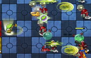 Cutter Bamboo Projectile Affect