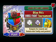 Olive Pit's Oily Season - Olive Pit's BOSS FIGHT Tournament