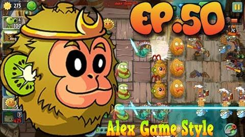 Plants vs. Zombies 2 (Chinese version) Plants Level Up Kiwifruit Pirate Seas Day 23 (Ep