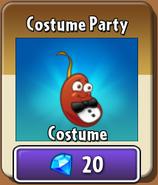 Chili Bean Costume Party